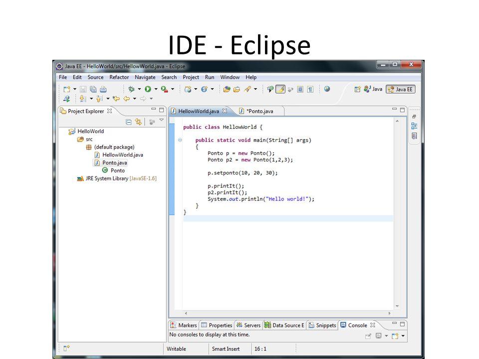 IDE - Eclipse