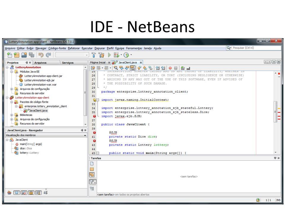 IDE - NetBeans