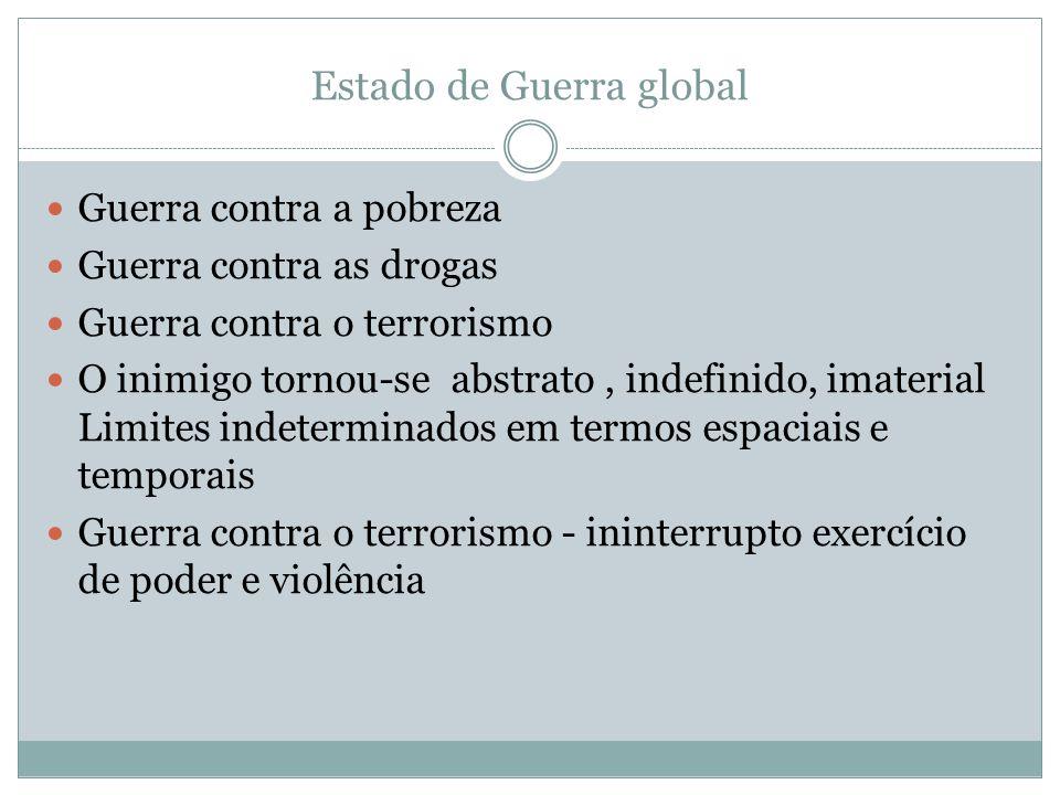 Estado de Guerra global