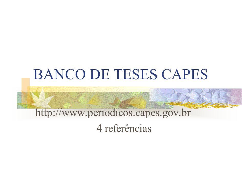 http://www.periodicos.capes.gov.br 4 referências