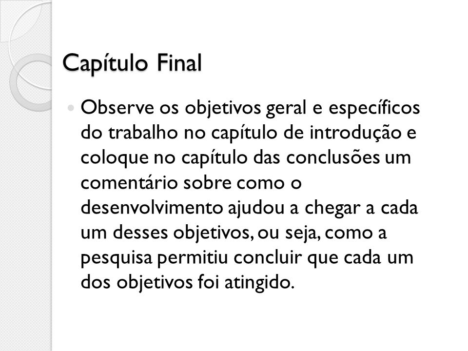 Capítulo Final