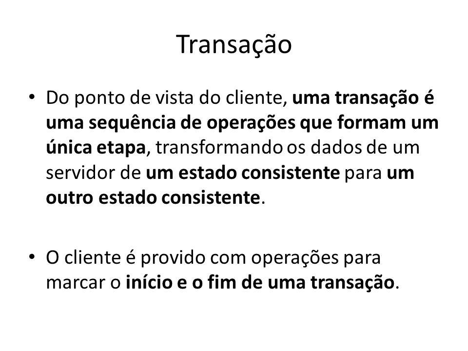 Transação