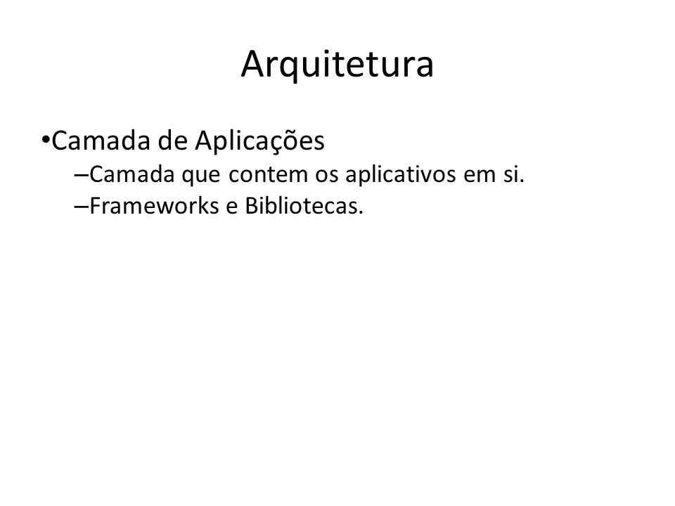 Arquitetura Camada de Aplicações