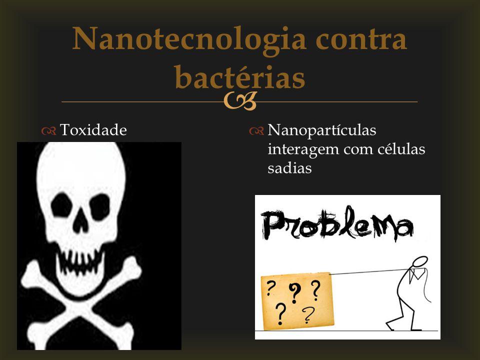 Nanotecnologia contra bactérias