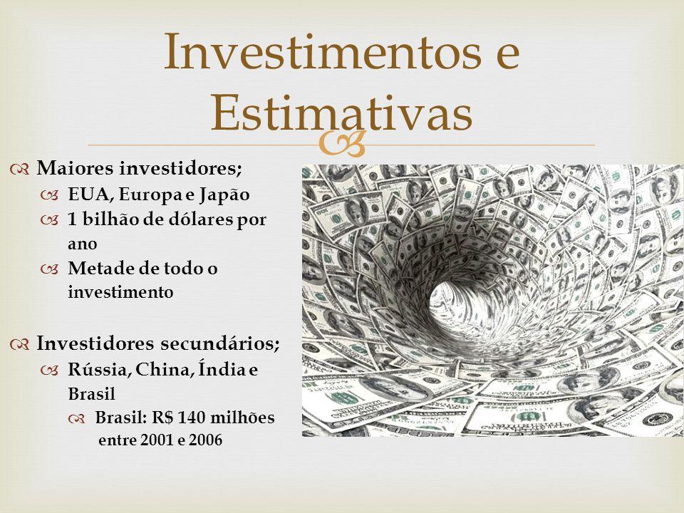 Investimentos e Estimativas
