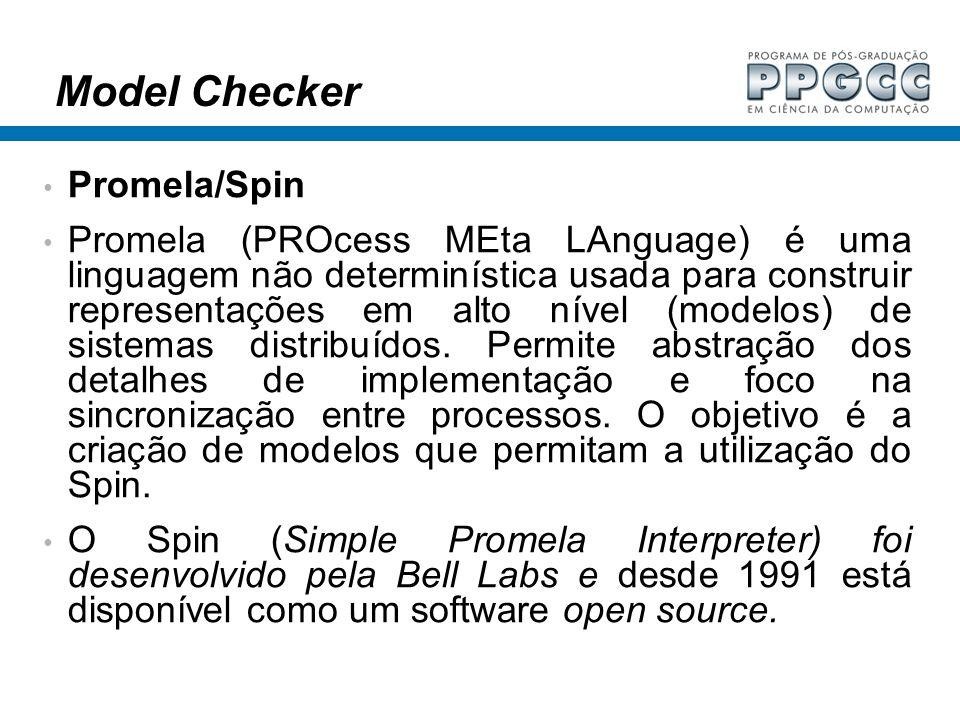 Model Checker Promela/Spin