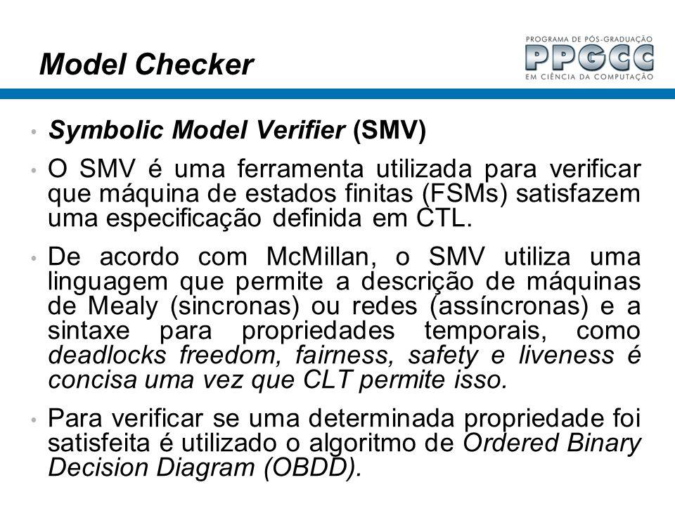 Model Checker Symbolic Model Verifier (SMV)