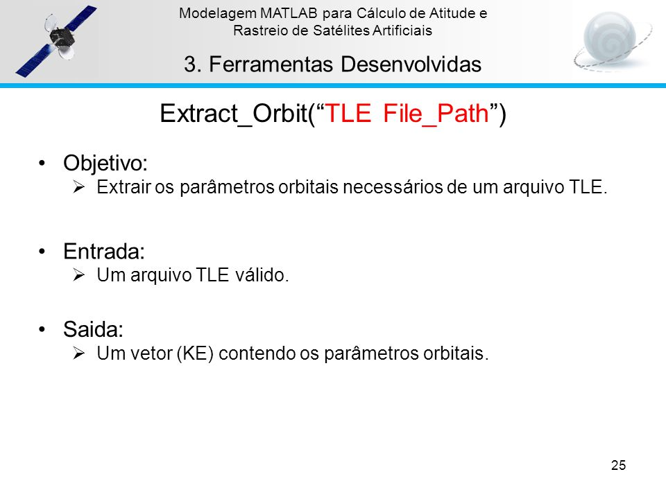 Extract_Orbit( TLE File_Path )