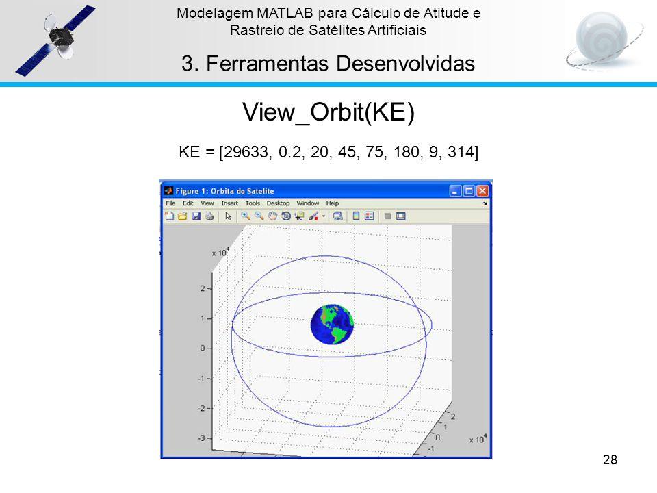 View_Orbit(KE) Ferramentas Desenvolvidas