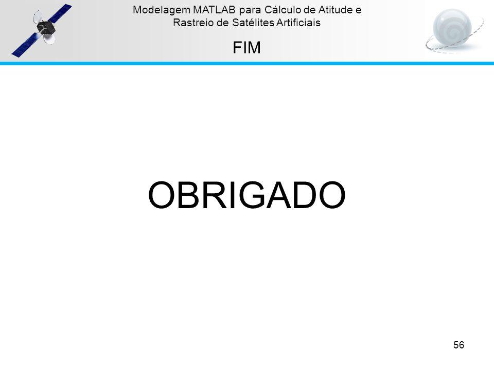 OBRIGADO FIM Modelagem MATLAB para Cálculo de Atitude e
