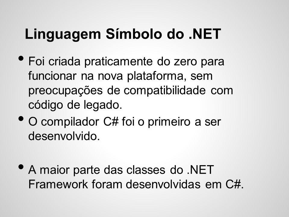 Linguagem Símbolo do .NET