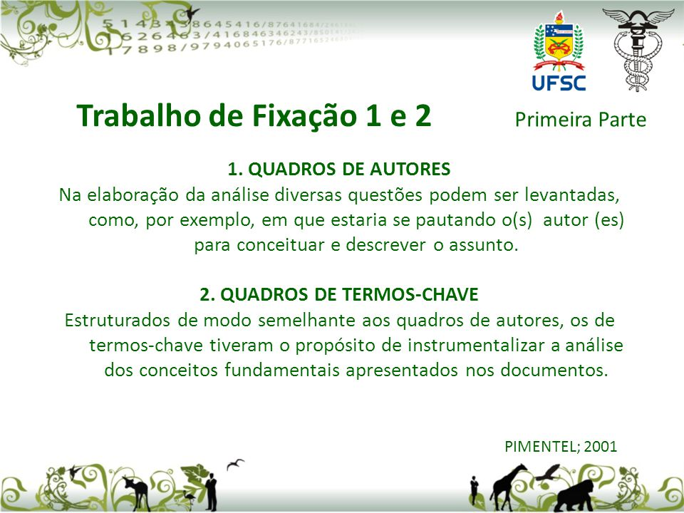 2. QUADROS DE TERMOS-CHAVE