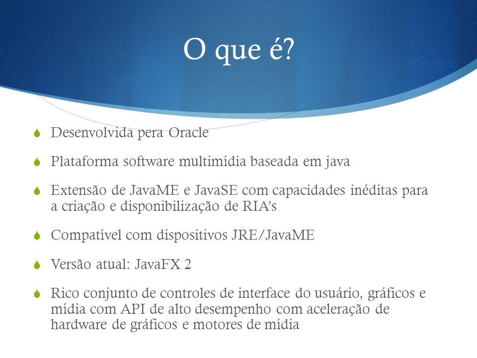 O que é Desenvolvida pera Oracle