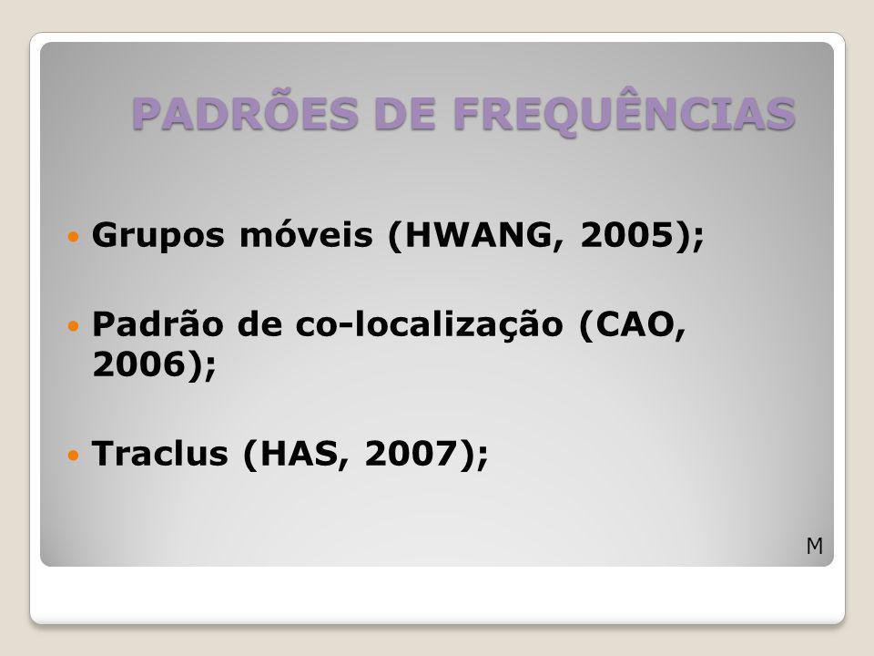 PADRÕES DE FREQUÊNCIAS
