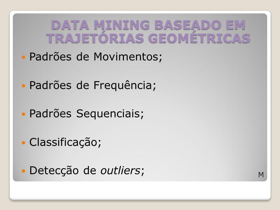 DATA MINING BASEADO EM TRAJETÓRIAS GEOMÉTRICAS