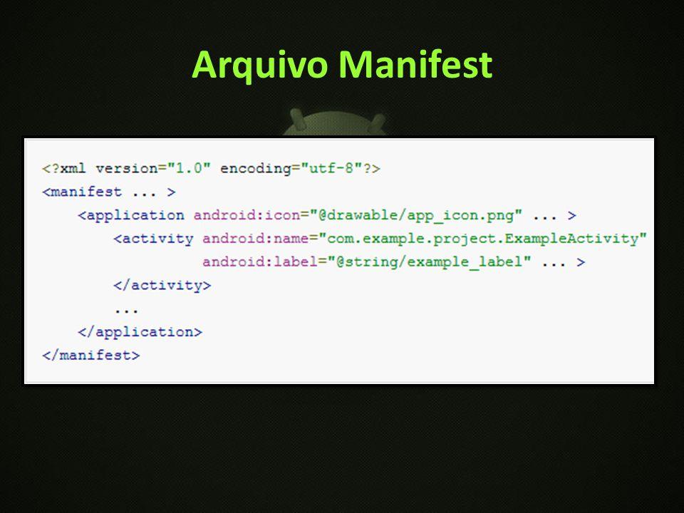 Arquivo Manifest