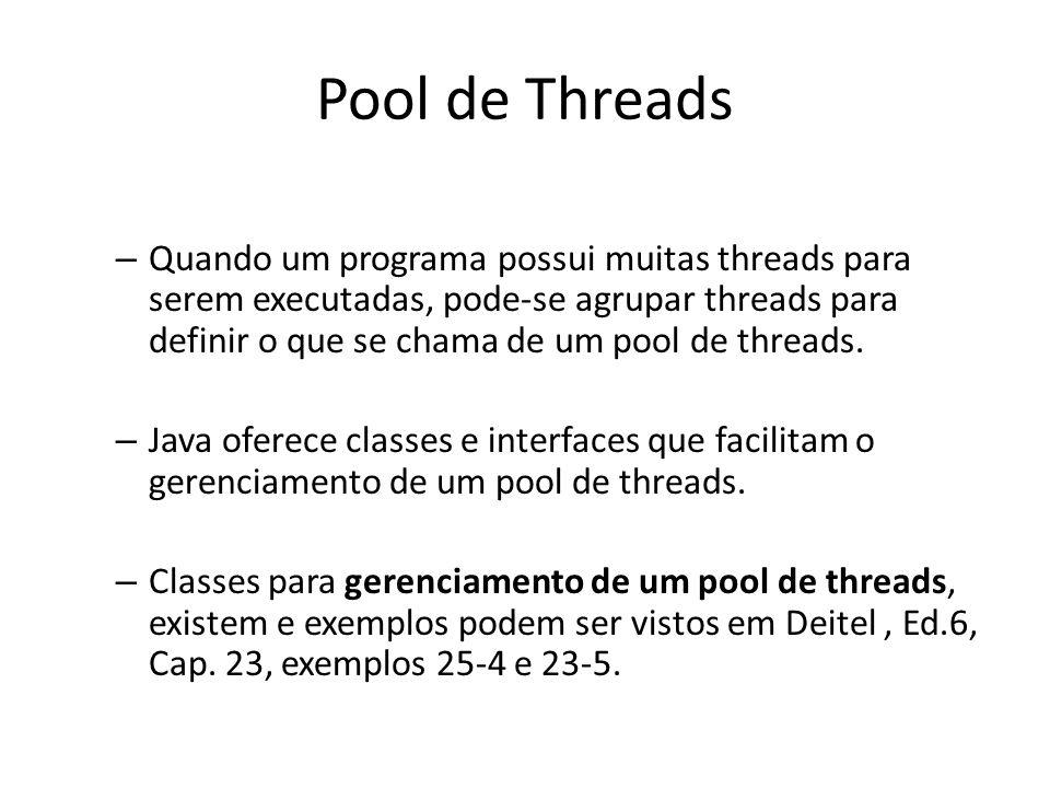 Pool de Threads