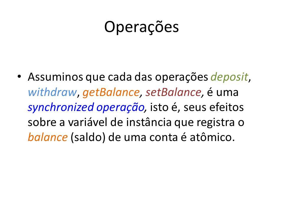 Operações