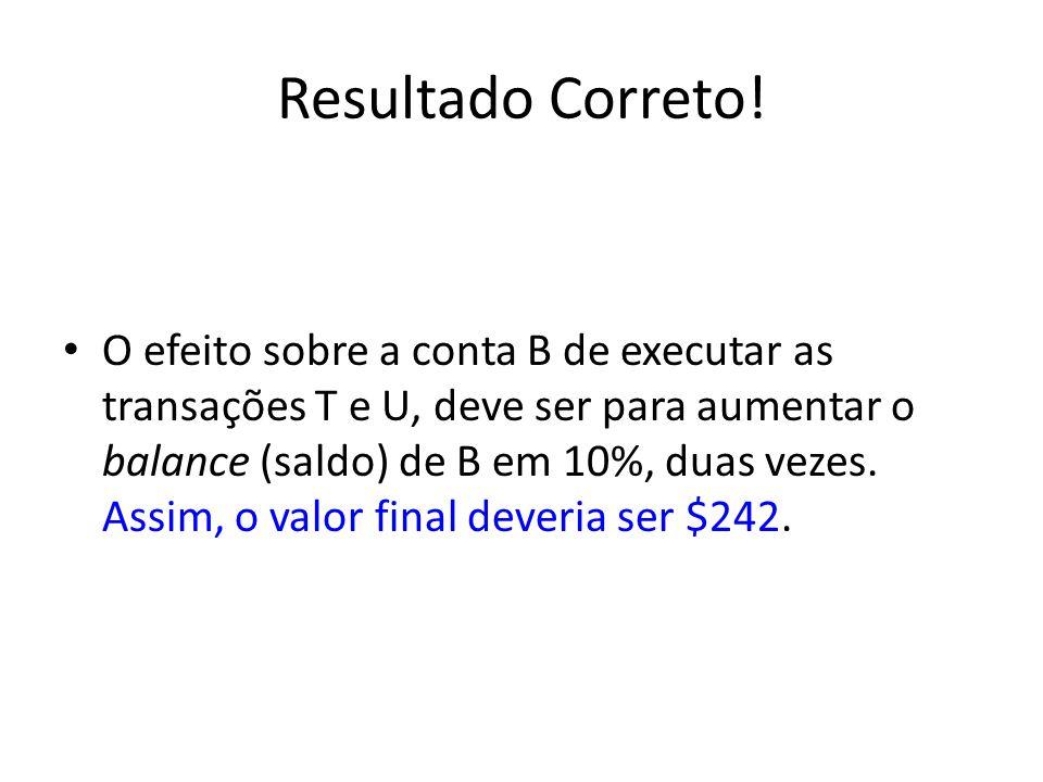 Resultado Correto!