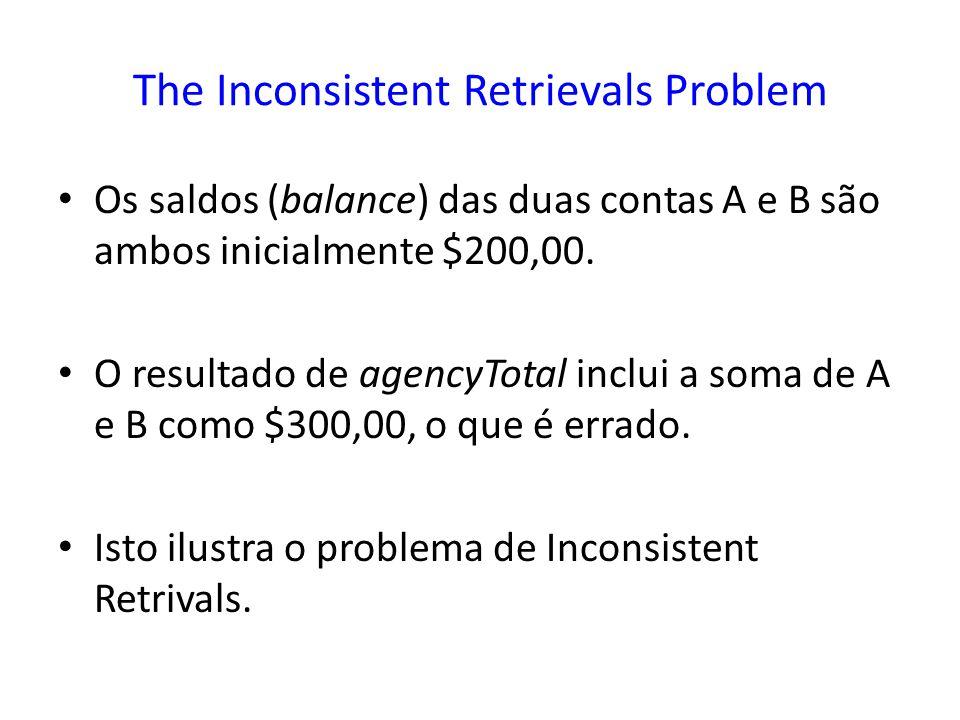 The Inconsistent Retrievals Problem