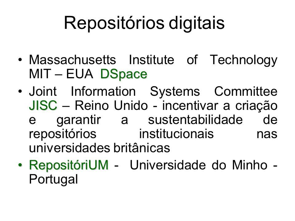 Repositórios digitais