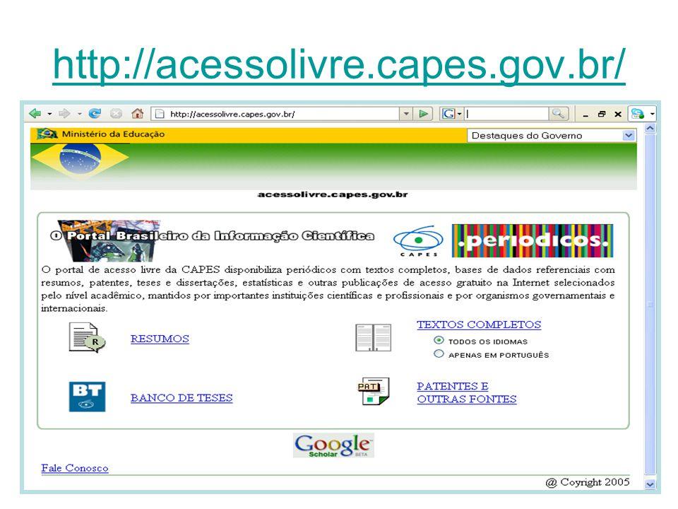 http://acessolivre.capes.gov.br/