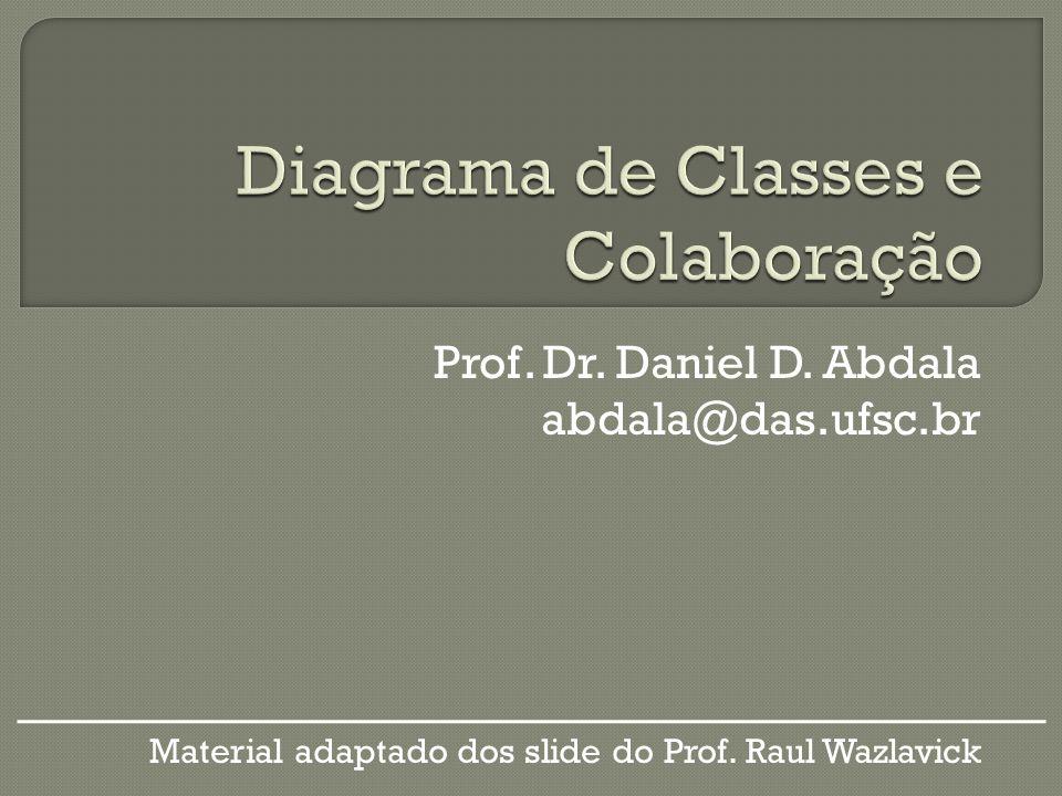 Diagrama de Classes e Colaboração