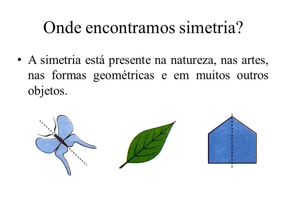 Onde encontramos simetria