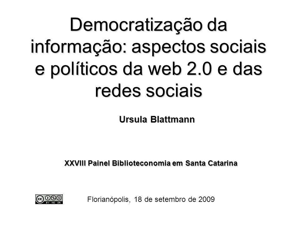 XXVIII Painel Biblioteconomia em Santa Catarina