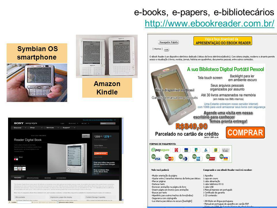 e-books, e-papers, e-bibliotecários http://www.ebookreader.com.br/