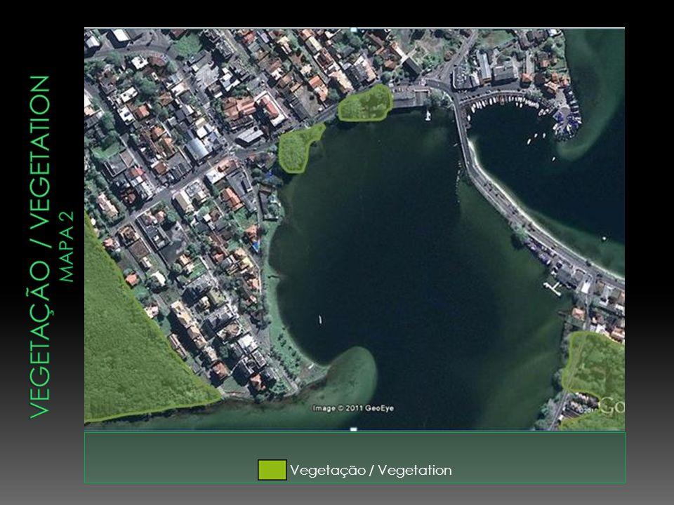 Vegetação / vegetation mapa 2