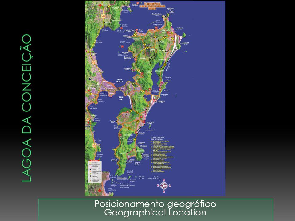 Lagoa da Conceição Posicionamento geográfico Geographical Location