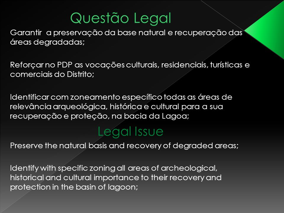 Questão Legal Legal Issue