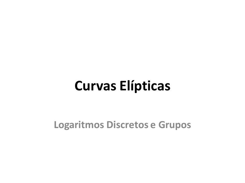 Logaritmos Discretos e Grupos