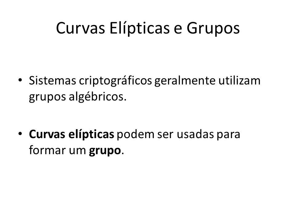 Curvas Elípticas e Grupos