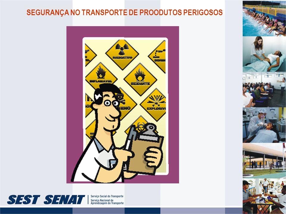 SEGURANÇA NO TRANSPORTE DE PROODUTOS PERIGOSOS