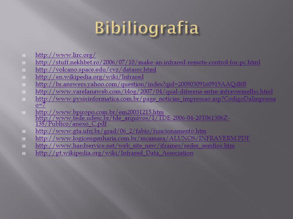 Bibiliografia http://www.lirc.org/