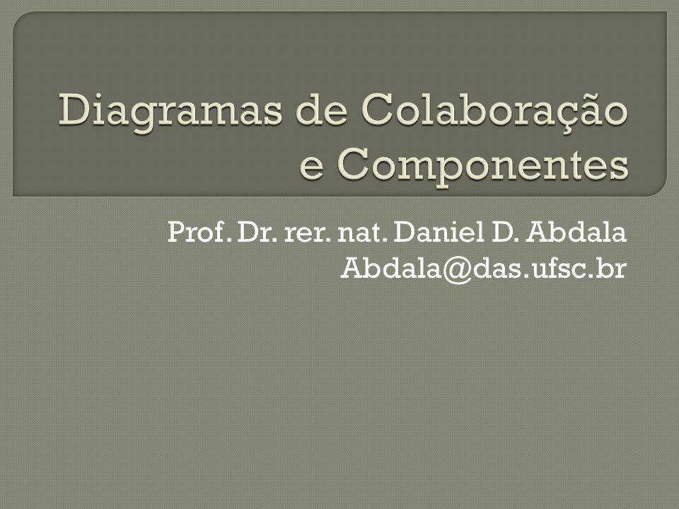 Diagramas de Colaboração e Componentes