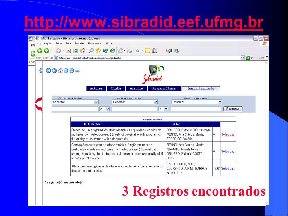 http://www.sibradid.eef.ufmg.br 3 Registros encontrados