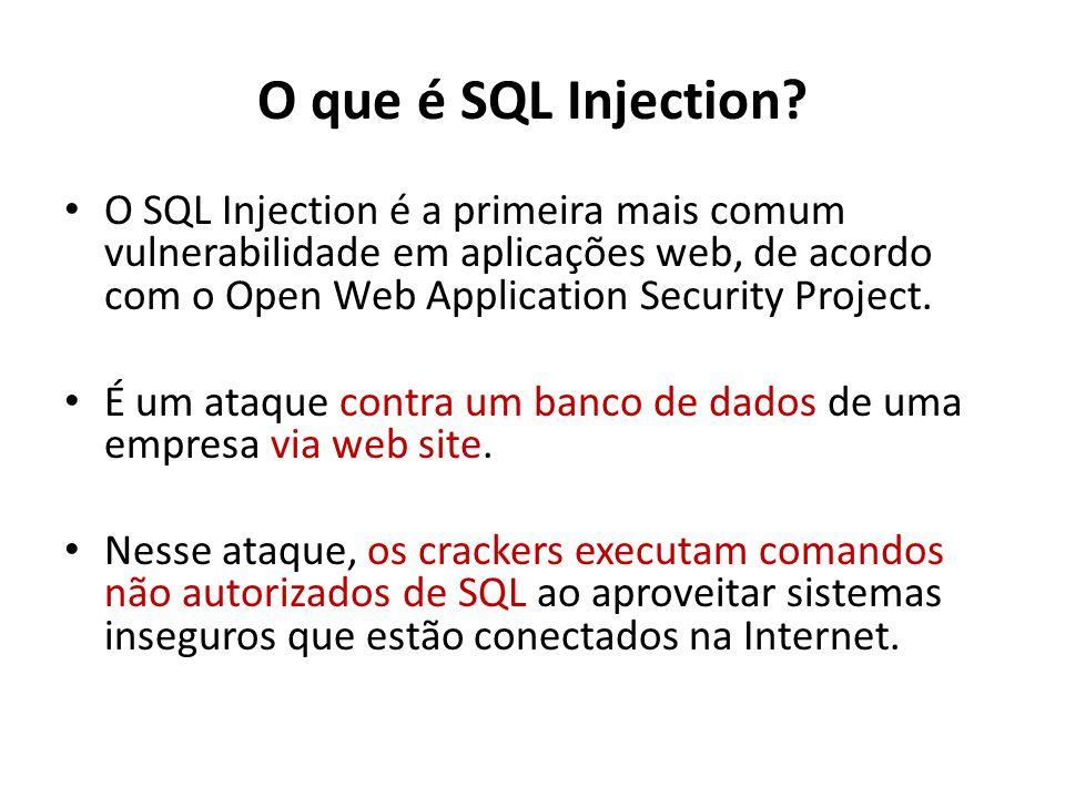 O que é SQL Injection