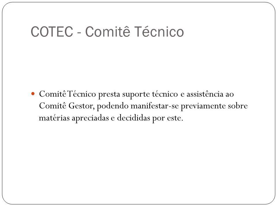 COTEC - Comitê Técnico