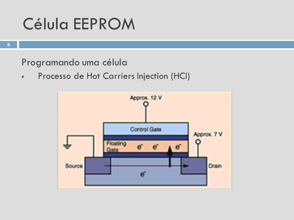 Célula EEPROM Programando uma célula