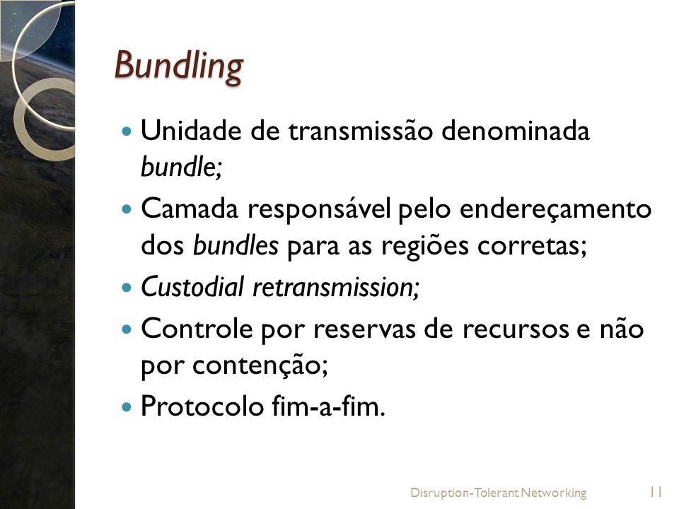 Bundling Unidade de transmissão denominada bundle;