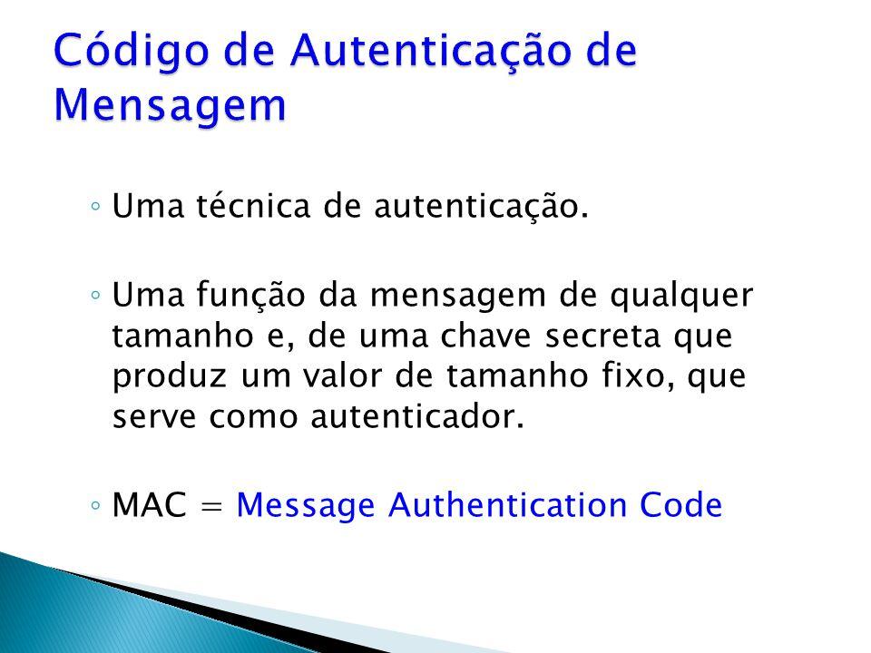 Código de Autenticação de Mensagem