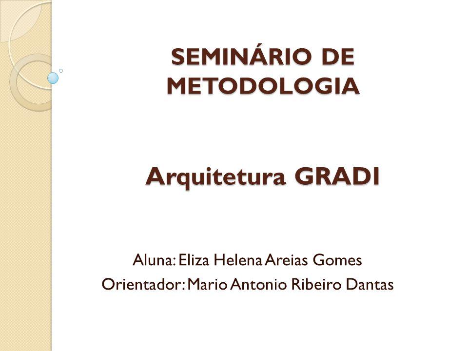 SEMINÁRIO DE METODOLOGIA Arquitetura GRADI