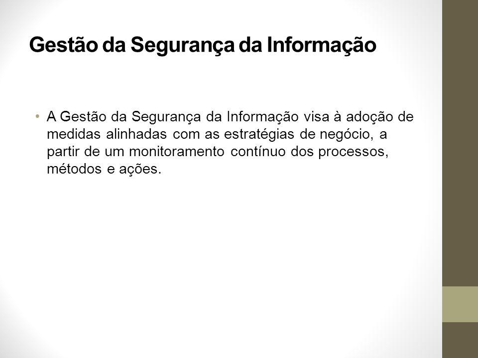 Gestão da Segurança da Informação