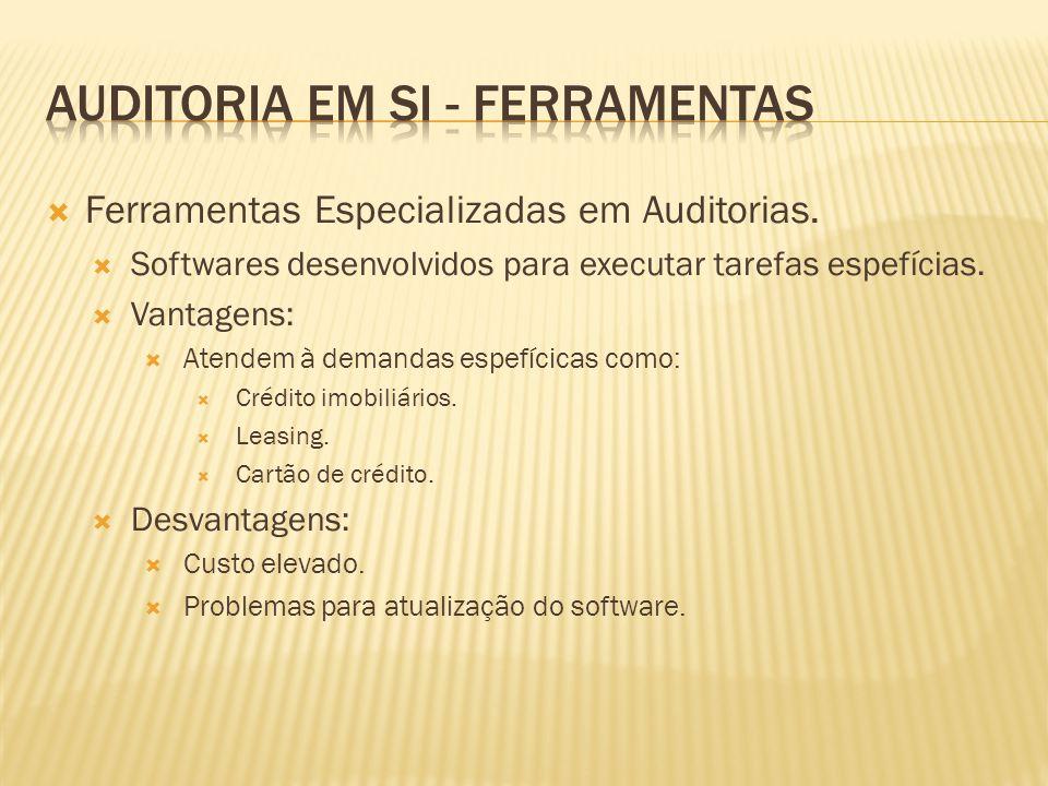 AUDITORIA EM SI - FERRAMENTAS
