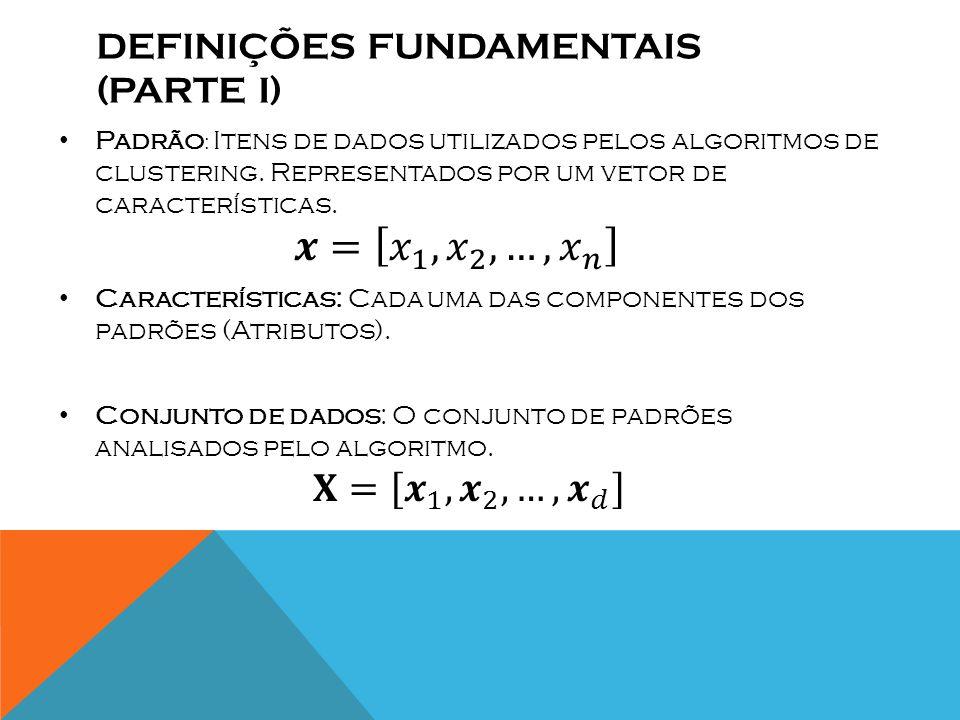 Definições fundamentais (PARTE i)