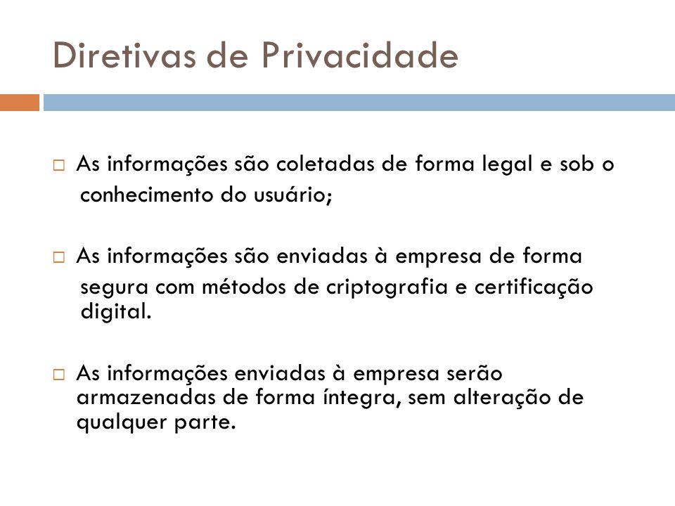 Diretivas de Privacidade