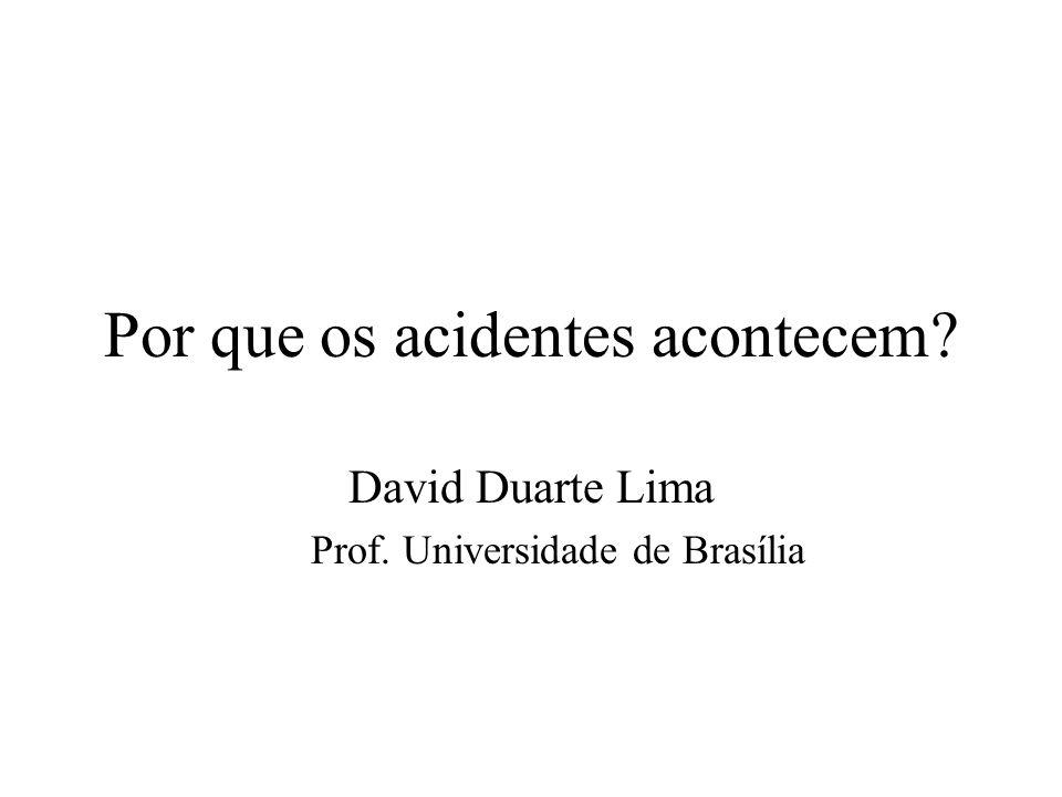 Por que os acidentes acontecem
